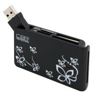 Картридер CBR CR-444, All-in-one, USB 2.0